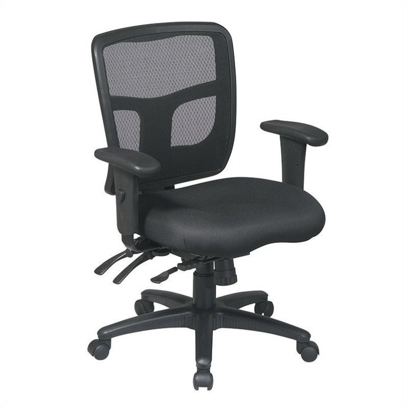 office chair with adjustable arms vintage steelcase chairs back mid managers 92893 30