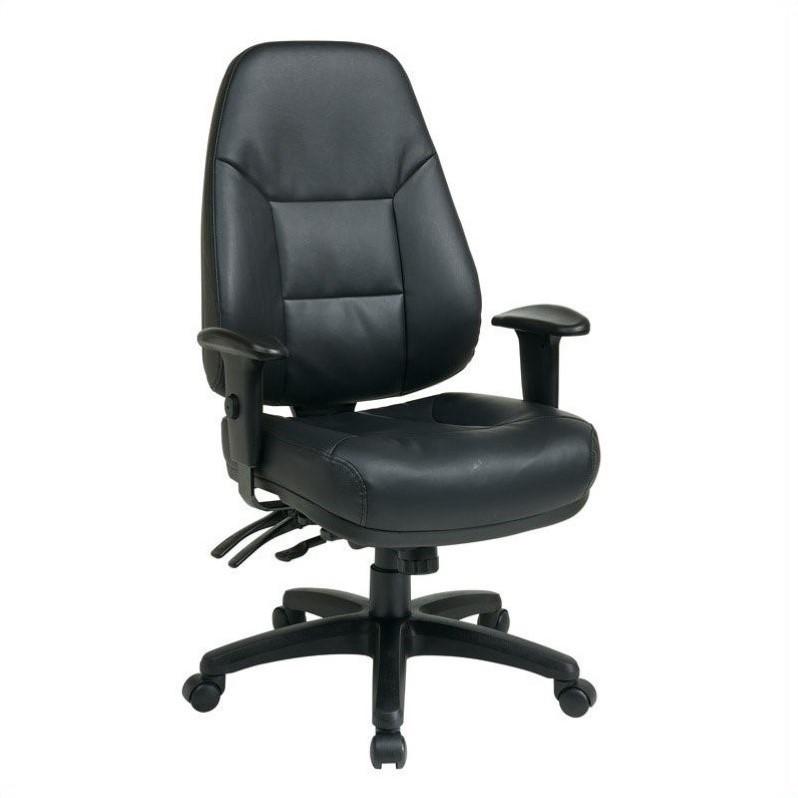 black leather office chair high back purple lounge bedroom eco in ec4350 ec3