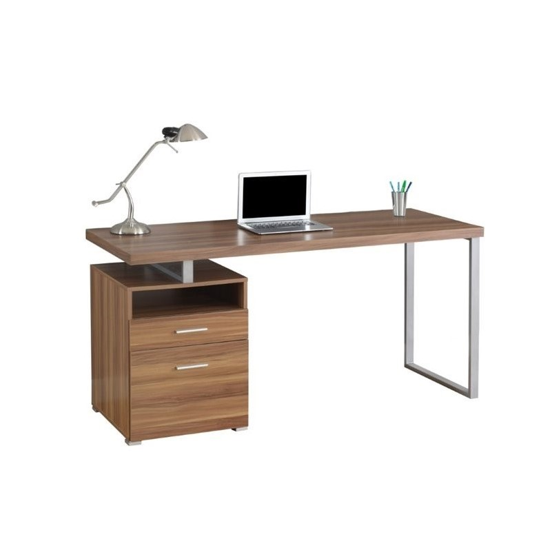 60 Computer Desk in Walnut  I 7146