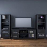 Curio Cabinet in Black - 203306