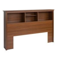 Full/Queen Bookcase Headboard in Warm Cherry - LSH-6643-V