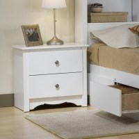 White Queen Wood Platform Storage Bed 4 Piece Bedroom Set ...