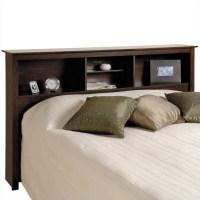 Queen Bookcase Platform Bed 3 Piece Bedroom Set