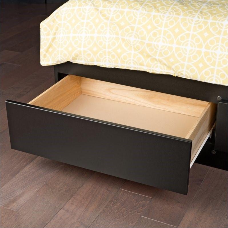 King Platform Storage Bed with 6 Drawers  BBK8400K
