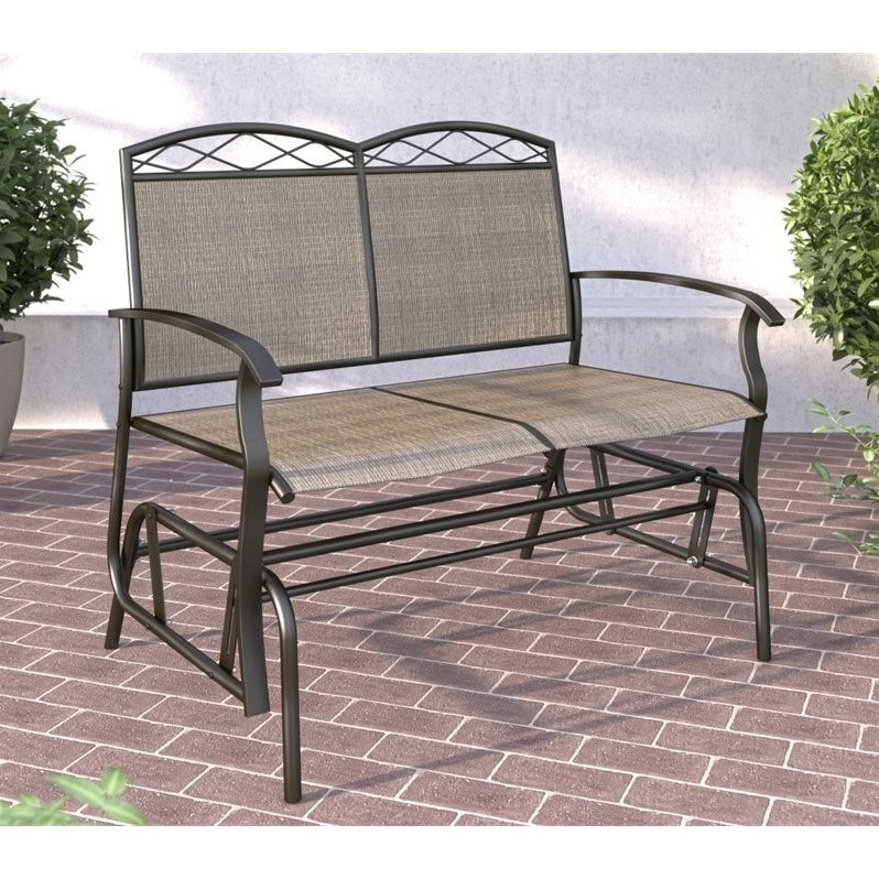 Patio Double Glider in Brown