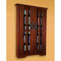 Wall Hanging Multimedia Cabinet in Walnut - M-190W