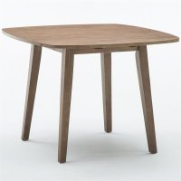 Dining Table in Driftwood Gray Wire-brush - 71036