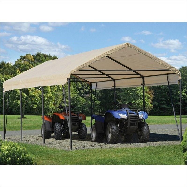 ShelterLogic Carport In A Box 12 X 20 X 9 Canopy In