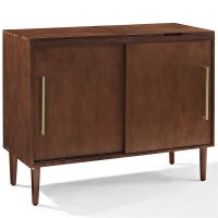 Crosley Everett Media Console in Mahogany - CF1103-MA
