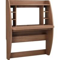 Wall Mounted Desk in Light Walnut - 9866096PCOM