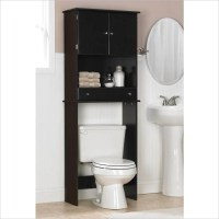 Ameriwood Over the Toilet Bathroom Space Saver Espresso ...