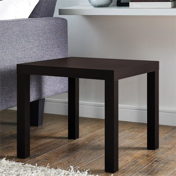 Parsons End Table In Espresso - 5199096