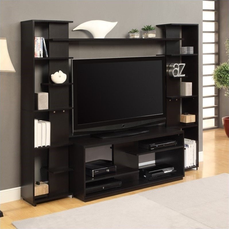 living room furniture sales victorian set altra entertainment center in black and white ...
