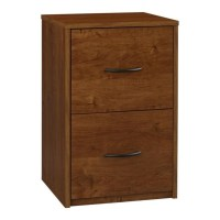 2 Drawer Wood Vertical File Cabinet in Oak - 9524301PCOM