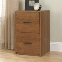 2 Drawer Wood Vertical File Cabinet in Oak - 9524301PCOM
