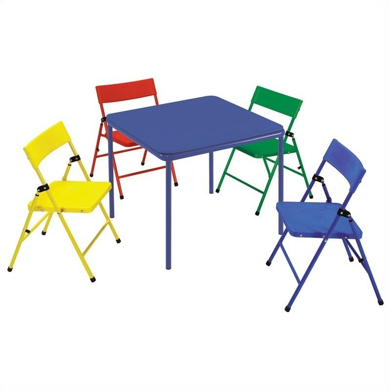 Ameriwood COSCO Collection Kid's 5 Piece Folding Chair and