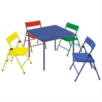 Ameriwood COSCO Collection Kid's 5 Piece Folding Chair and ...