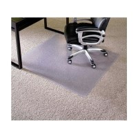 "ES Robbins 46"" x 60"" Carpet Office Chair Mat - 12X381"