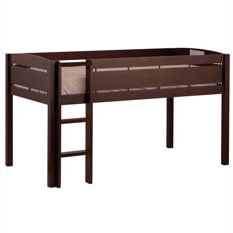 Canwood Whistler Junior Loft Bunk Bed in Espresso  21319