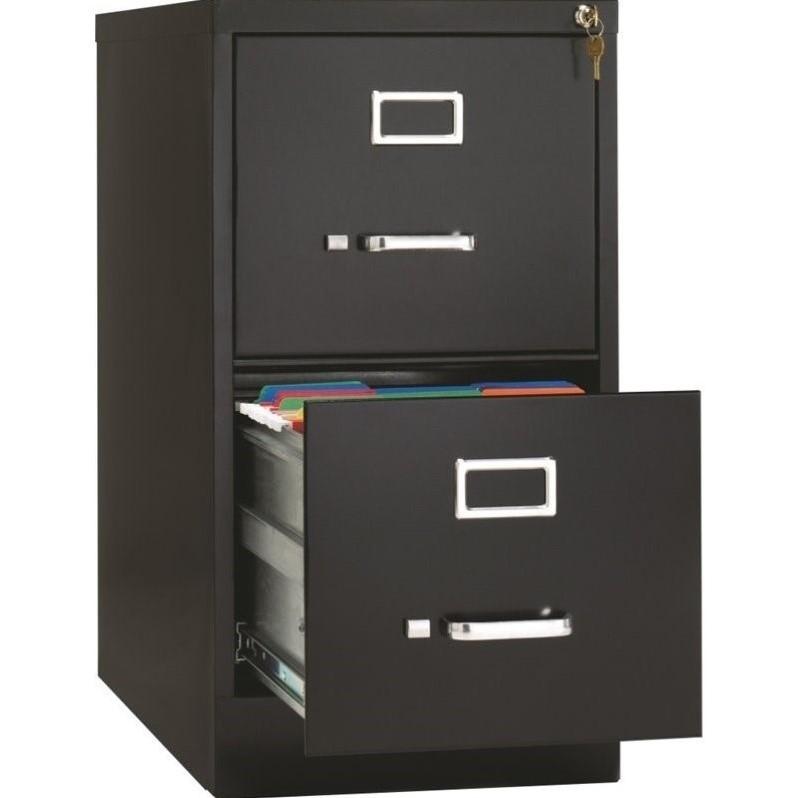 Hirsh 265 in Deep 2 Drawer Vertical Letter File Cabinet