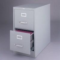 Hirsh Industries Vertical Files 2 Drawer Letter File