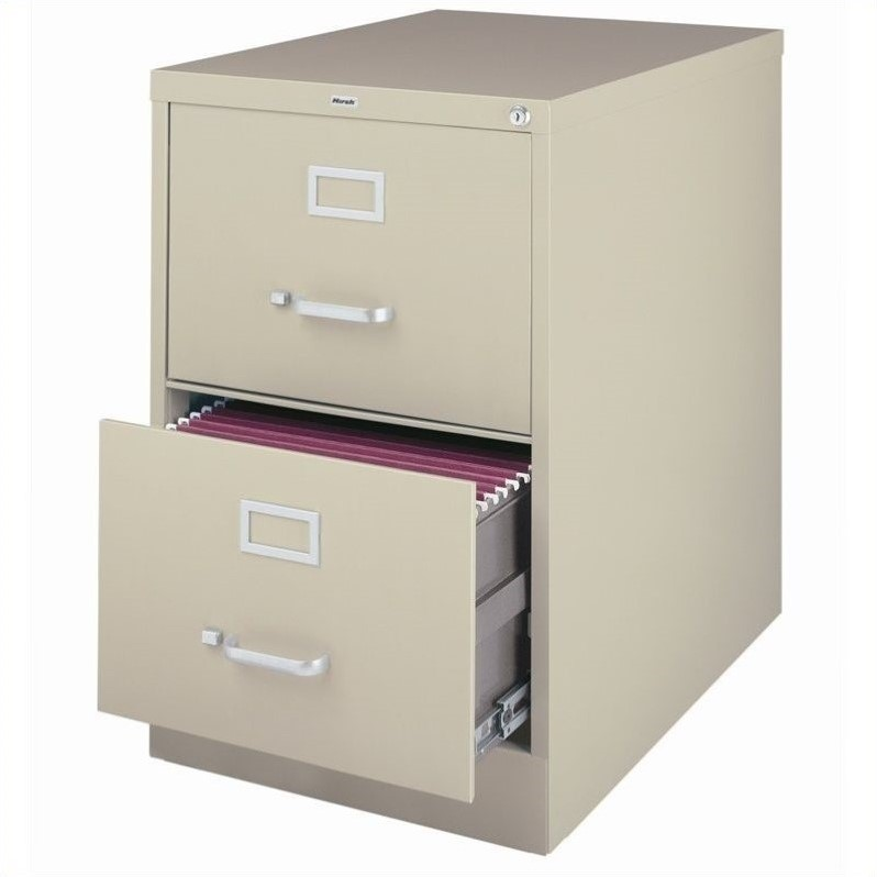 2 Drawer Legal File Cabinet in Putty  14418