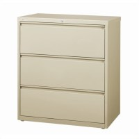 Filing Cabinet File Storage Hirsh Industries 3 Drawer
