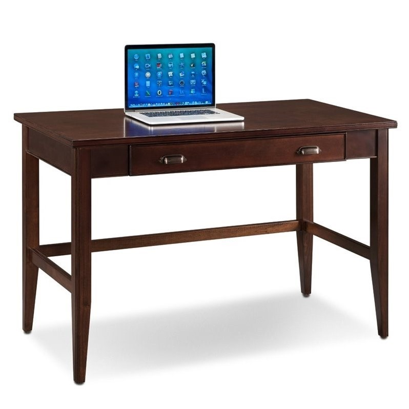 Leick Laurent Writing Desk in Chocolate Cherry  10511