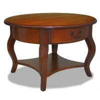 Leick Furniture French Countryside Round Storage Coffee ...