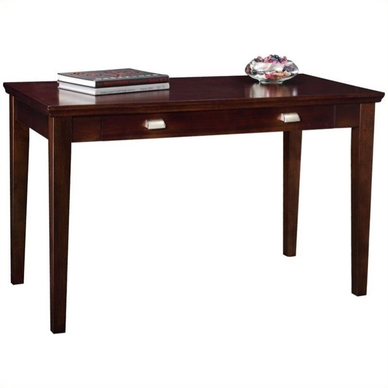 Leick Furniture LaptopWriting Desk in a Chocolate Cherry
