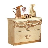 camelgroup Barocco Nightstand in Ivory - BAROCCON/S