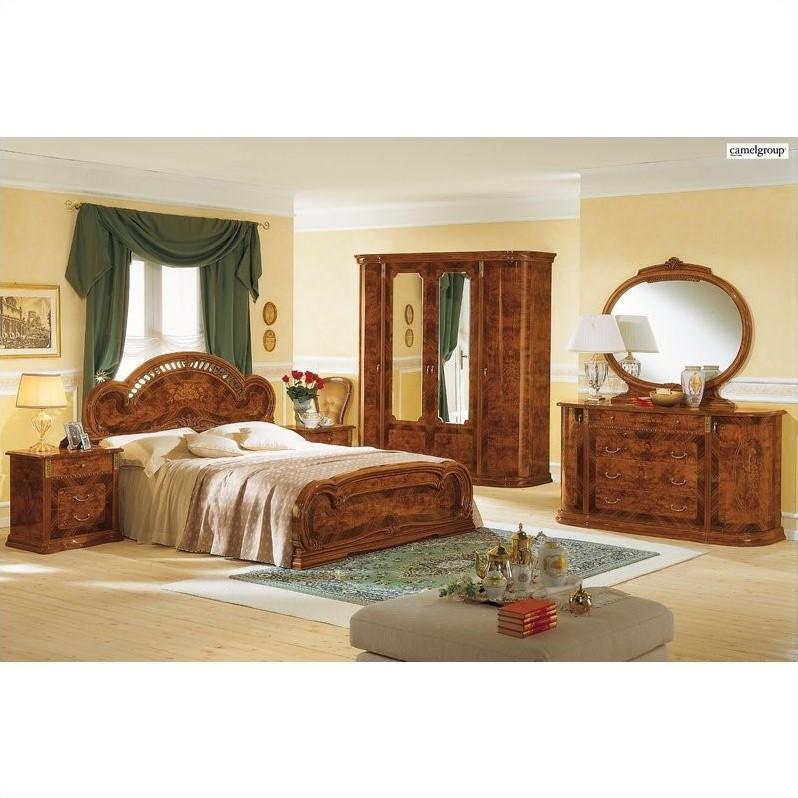 Camelgroup Milady Bed in Walnut  MILADYBED