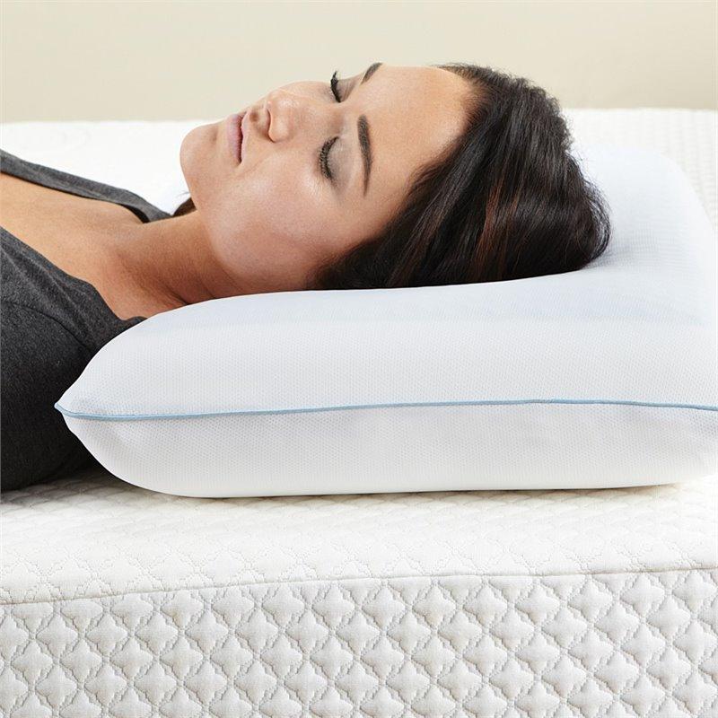 Standard Reversible Memory Foam Bed Pillow