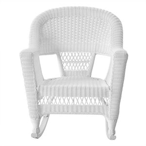 white rocking chairs for sale coleman cooler chair outdoor buy online cushions at low prices jeco rocker wicker in