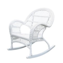 Rocking Chair White Outdoor High End Pedicure Chairs Buy Online Cushions At Low Prices Jeco Rocker Wicker In