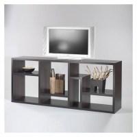 Stewart Bookcase TV Stand in Coffee - 7154120
