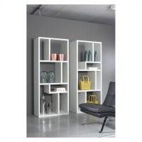 Bookcase TV Stand in White - 7154149