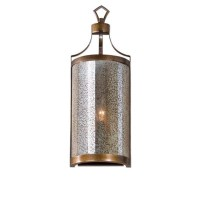 Uttermost Croydon 1 Light Mercury Glass Sconce