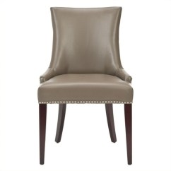 Safavieh Dining Chairs Flip And Fold High Chair Amelia Birch Leather In Clay Mcr4502g