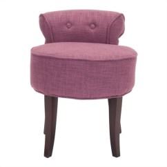 Pink Vanity Chair Fishing Kayak Safavieh Megan Birch Wood Stool In Mcr4546c