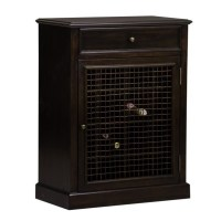 PRI Wine Cabinet in Dark Wood - DS-2188-304