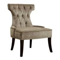 PRI Accent Chair in Silver - DS-2512-900-399
