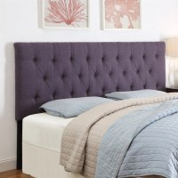 PRI Tufted Upholstered Headboard in Purple - DS-2302-2X0-SP