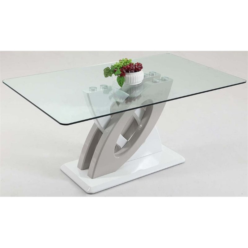 stella sofa table best inexpensive sleeper sofas chintaly imports glass top dining in white dt