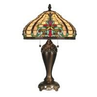 Dale Tiffany Topaz Baroque Table Lamp - TT60203