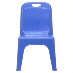 Stackable Dining Room Chairs Blue Accent Chair With Ottoman Plastic School In - Yu-ycx-011-blue-gg