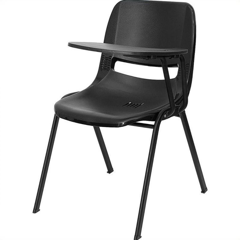 ergonomic folding chair wheelchair nurse shell stacking in black rut eo1 bk ltab gg