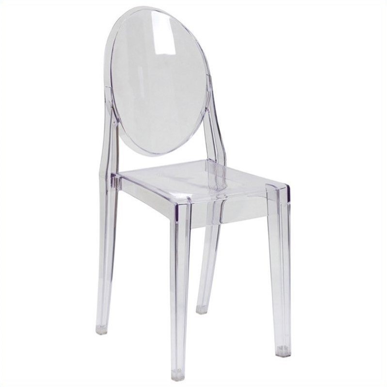 plastic see through chair tables and chairs price dining in transparent crystal fh 111 apc clr gg