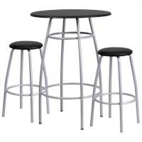 Contemporary Bar Height Table and Stool Set - YB-YJ922-GG