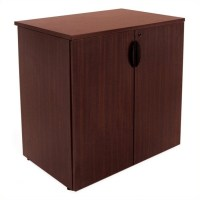 "Regency Legacy 35"" Stackable Storage Cabinet in Mahogany ..."